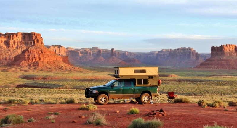 Valley Of The Gods, Utah Camp