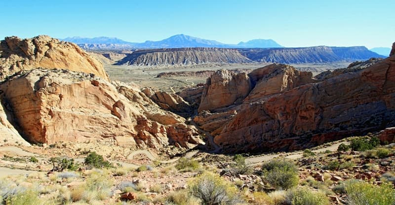 The Burr Trail, Utah