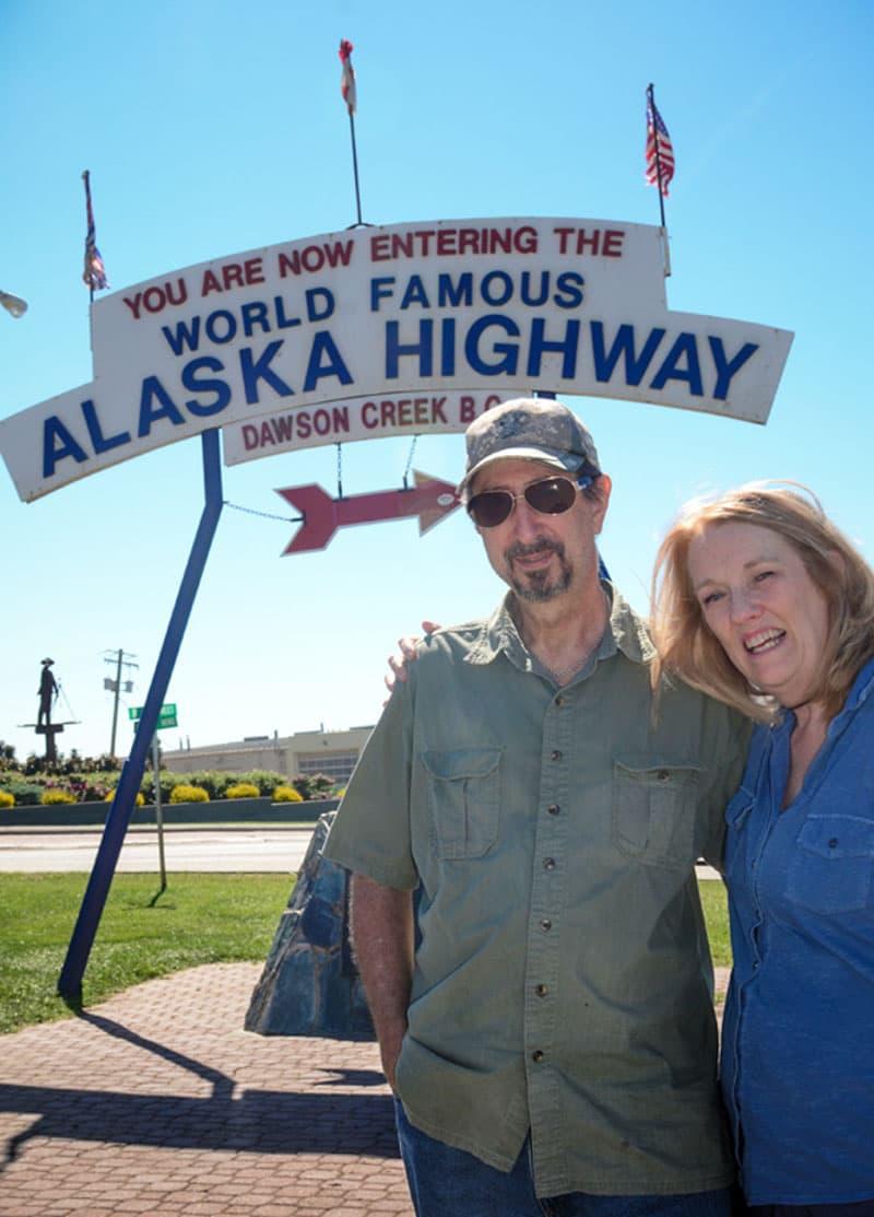 Dawson Creek, Alaska Highway Memorial
