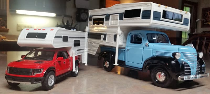 1941 Plymouth Camper toys
