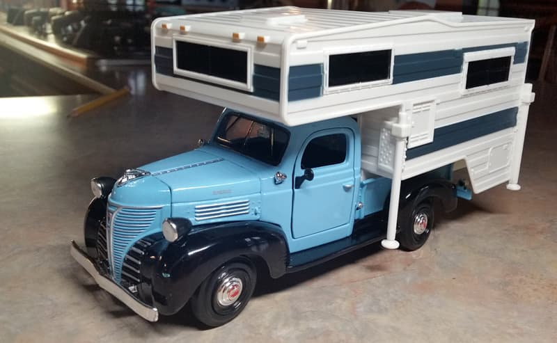 1941 Plymouth truck camper toy