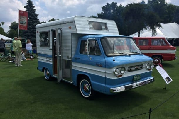 1963 Corvair Rampside, Owned by Jim Holcomb