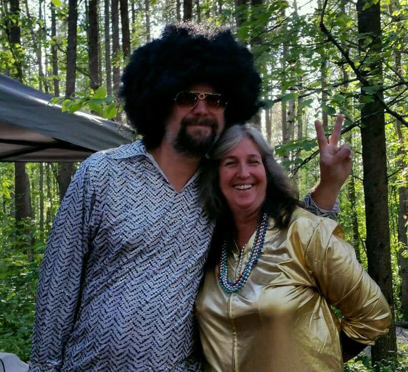 1970s night at the Montana Truck Camper Rally
