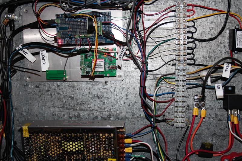 1972 Tiltin Hiltin circuit board and wiring