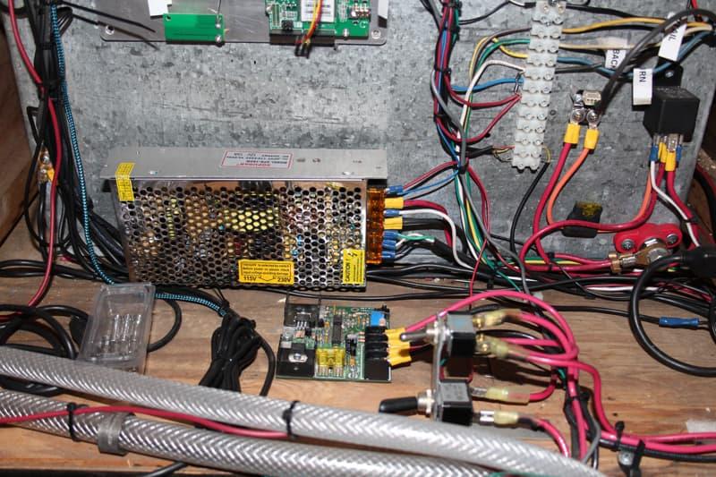 120 to 12-volt 20-amp converter 1972 Tiltin Hiltin