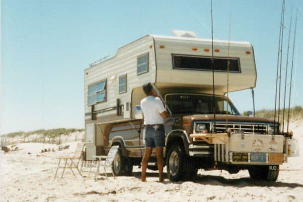 1978 Trek Camper at Island Beach State Park, New Jersey, owned by Bob Lick