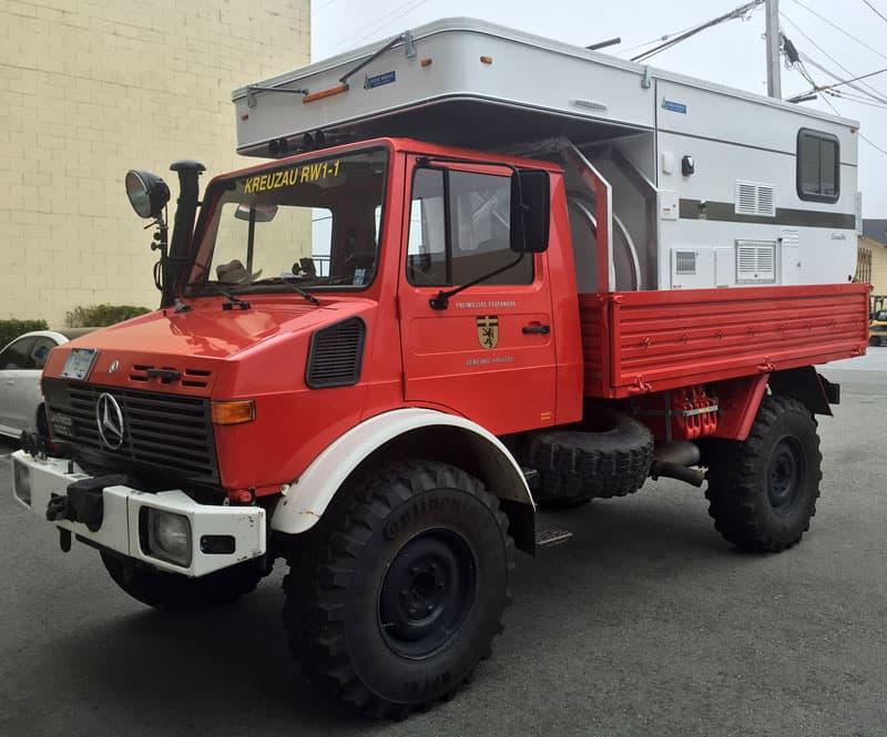 Grandby Unimog Truck Camper Magazine Article Four
