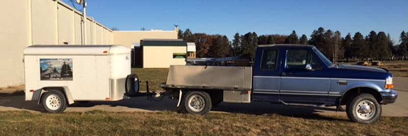 1996 Ford F250 Trailer For Church