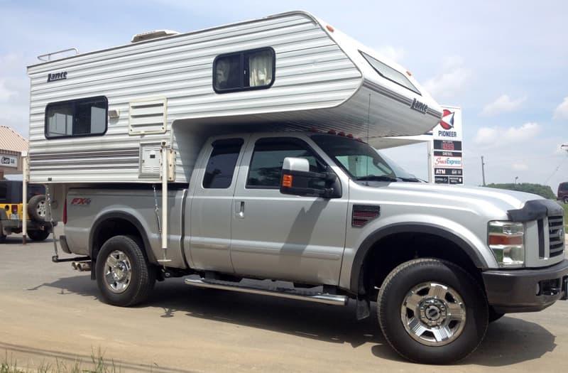 1999 Lance 815 truck camper