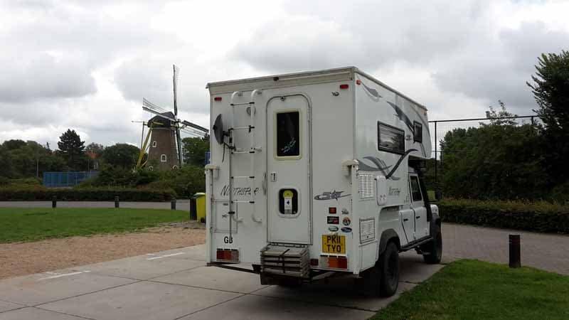 Domberg, Netherlands with a Northstar Camper