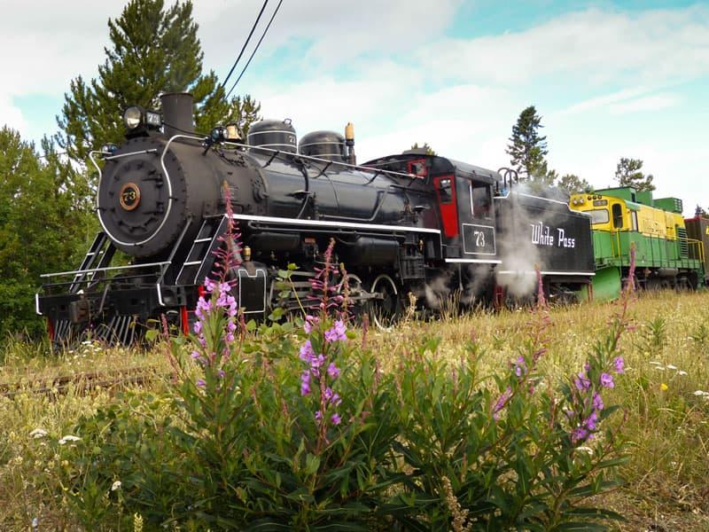 Carcross Yukon, White Pass Train
