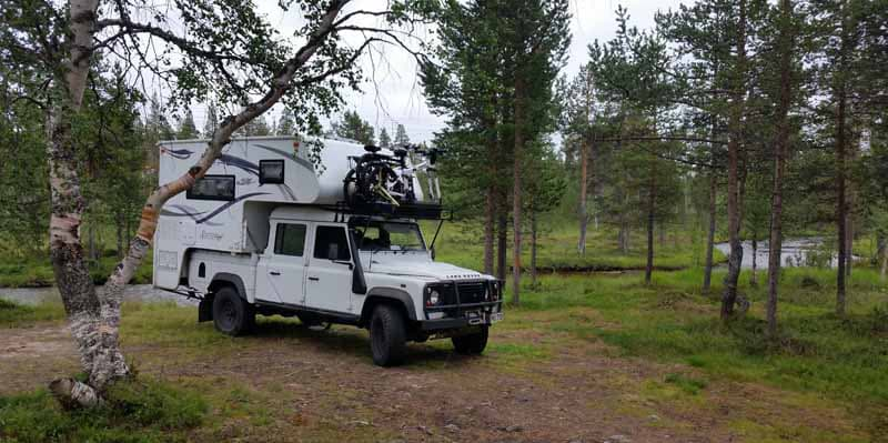 Ivalo Wildcamp in Finland