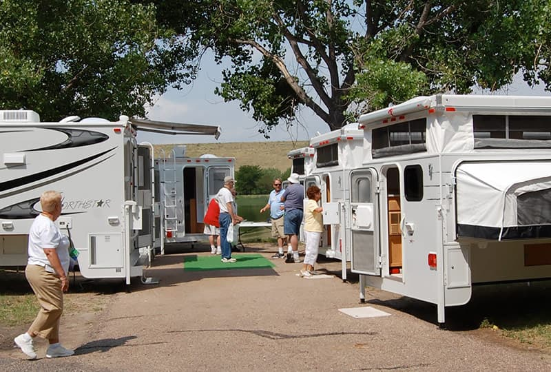Northstar Campers at Truck Camper Show in Ogallala, Nebraska