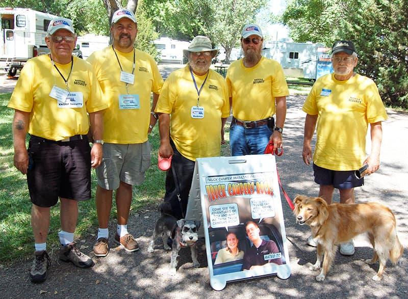 2007 Ogallala Show NATCOA Security Team