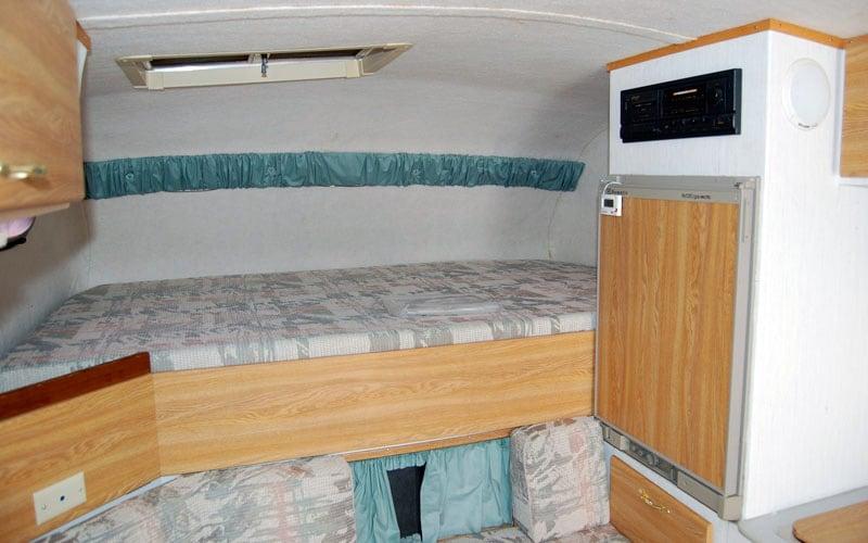 Inside SportCam Camper