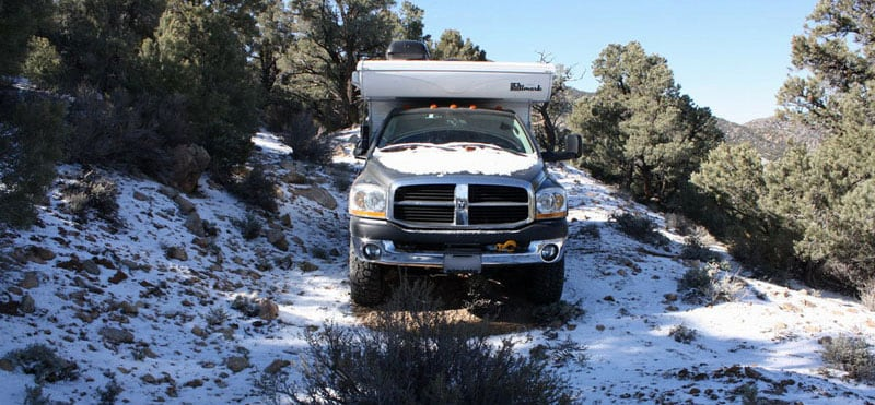 Camp In The Snow Hallmark Truck Camper
