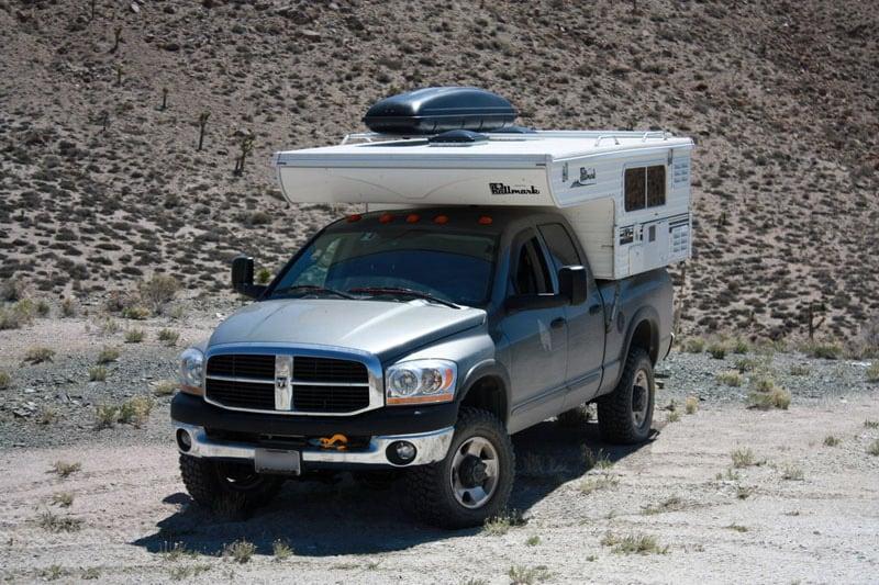 Cargo Rack On Roof State Line Mine Nevada