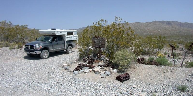 Crank Shaft Crossing Death Valley