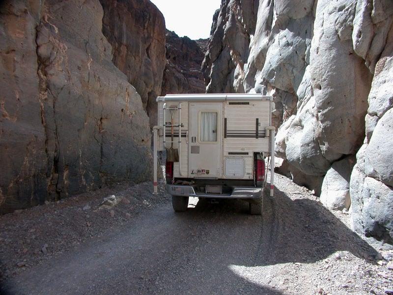 Titus Canyon Narrows Death Valley