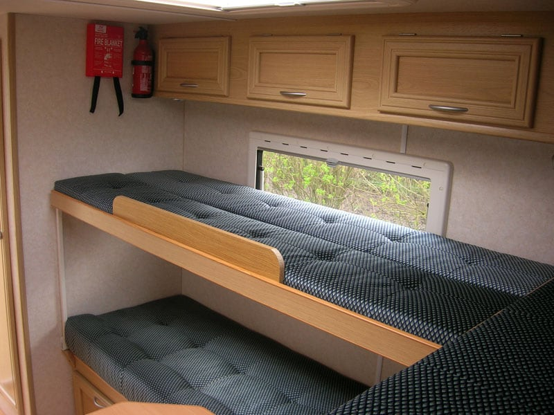 Bunk Beds In Ranger Camper
