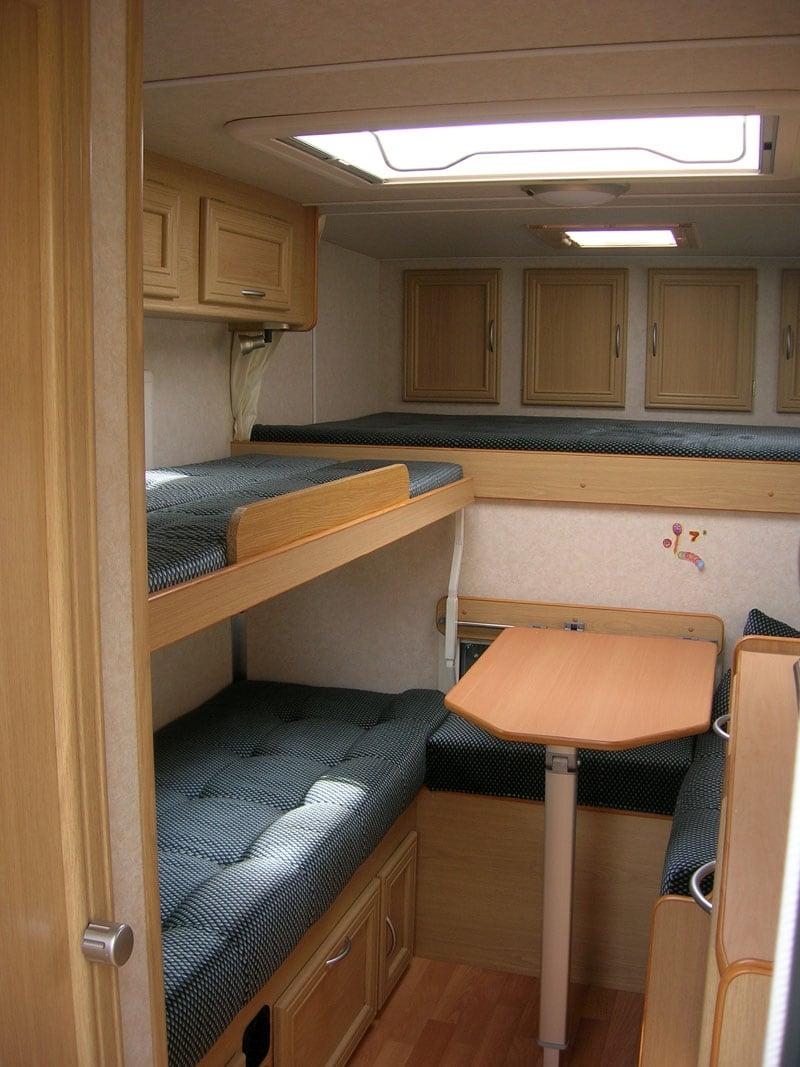 Inside Ranger Truck Camper