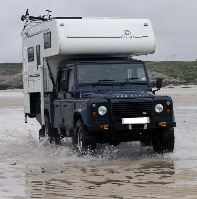 LandRover Through The Water
