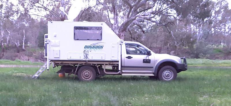 2010 Isuzu DMax truck in Tasmania