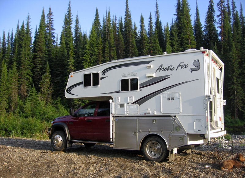 Arctic Fox Custom Truck Bed