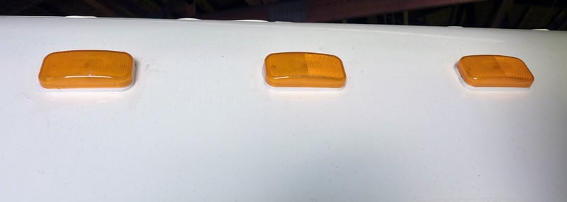 Trouble Caulk Areas Front Clearance Lights