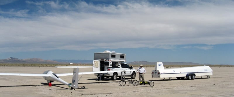 Airport Glider Tonopah Nevada