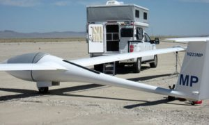 Camper And Glider In Tonopah June 2010