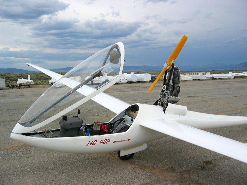 Glider On Ground Engine Up