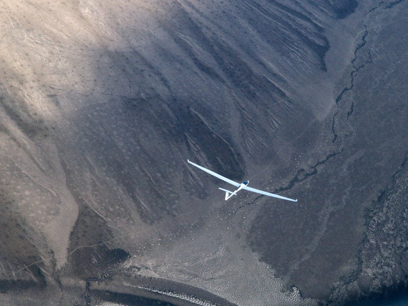 Gliding Catching Thermals