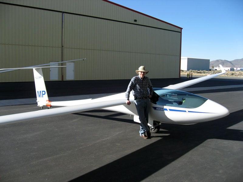 Mitch Polinsky With New Plane