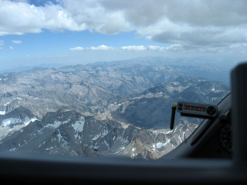 Soaring Over The High Sierras