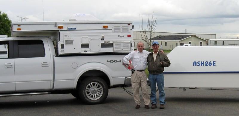 Tom Hanagan And Mitch Polinsky At FWC