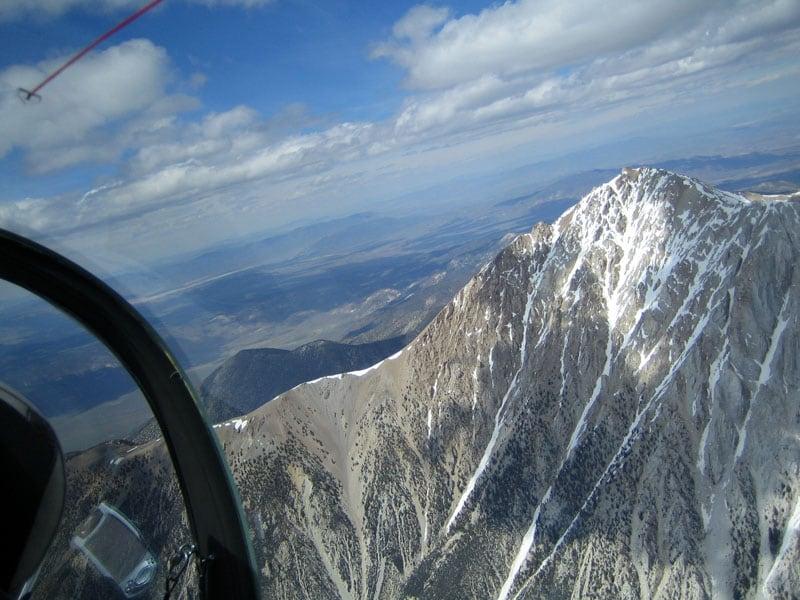 With Leo White Mt Peak