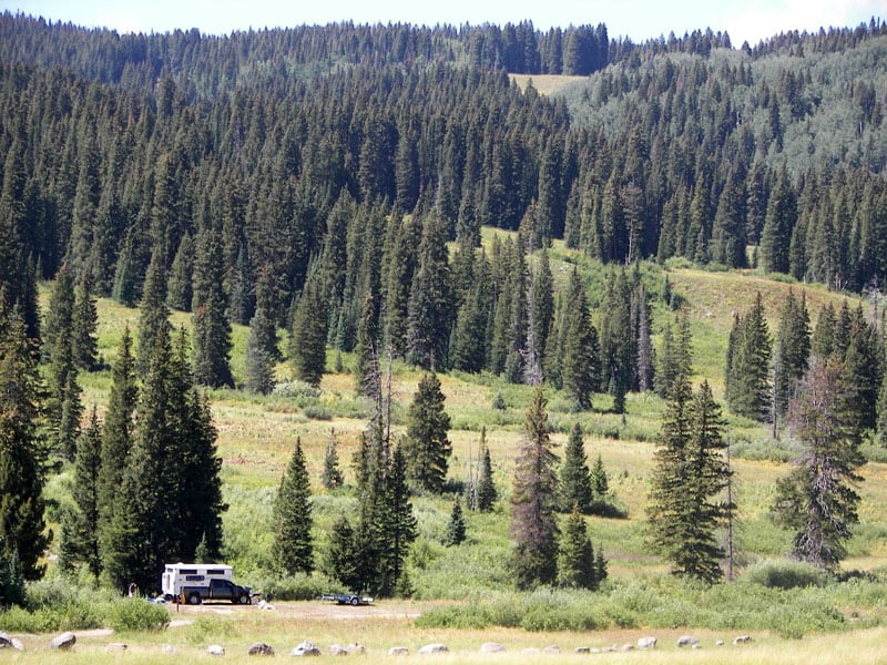 Jeep Trail In The Grand Mesa National Forest