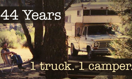 44 years with one truck and one camper