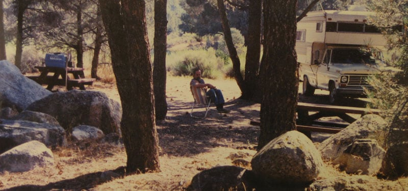 Chimney Creek Campground In Sierras Near Kennedy Meadows 1982