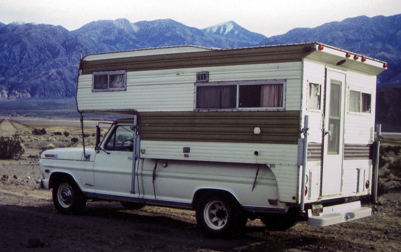 Earliest Picture After Buying The Camper 1976