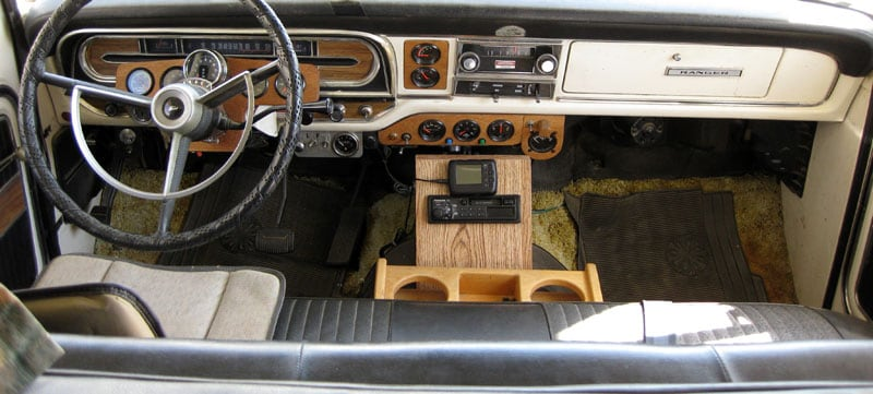 Ford Camper Special Dashboard