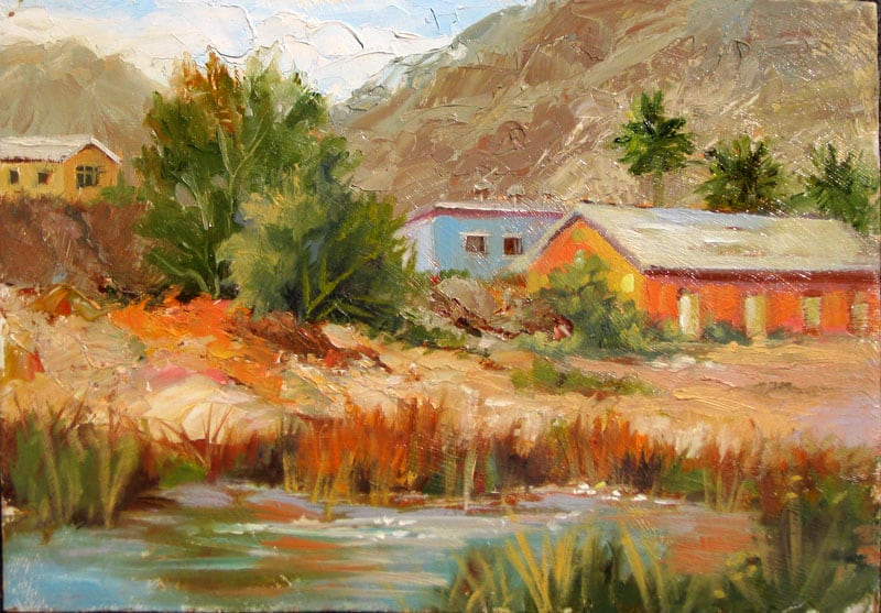Joann Paintings Of The Tecopa Lake 2002