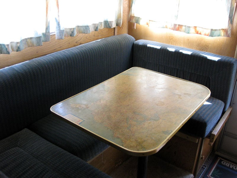 Roll A Long Camper Dinette