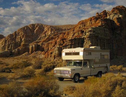 Roll A Long Vintage Camper