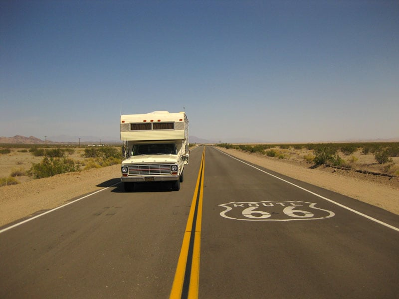 Route 66 Roll A Long Camper