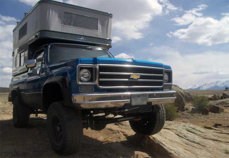Jeep Trails Chevy Truck