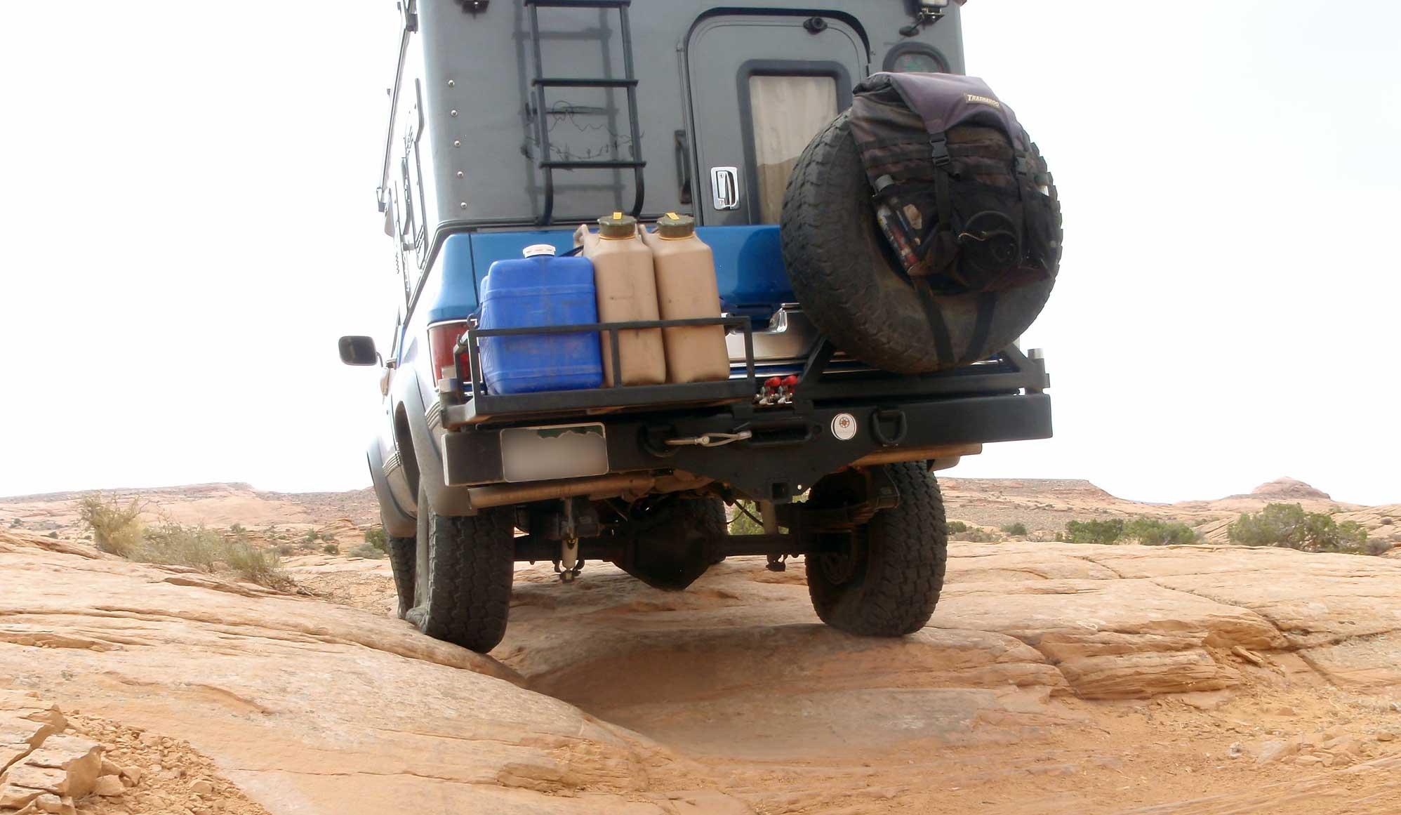 Jeep Trails In Utah With Truck Camper