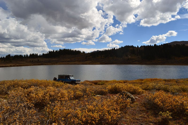 Taylor Lake In September