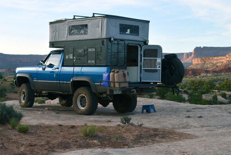 Utah Campsite For The Night